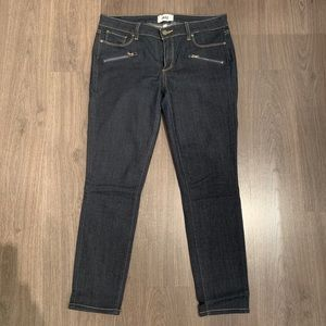 PAIGE 'Indio' Zip Front Ultra Skinny Jeans